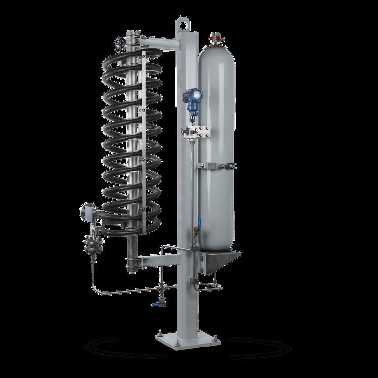 SPB6 Barrier fluid system  with bladder accumulator
