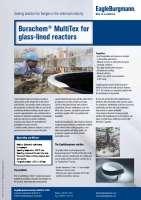 Solution: Burachem MultiTex for glass-lined reactors